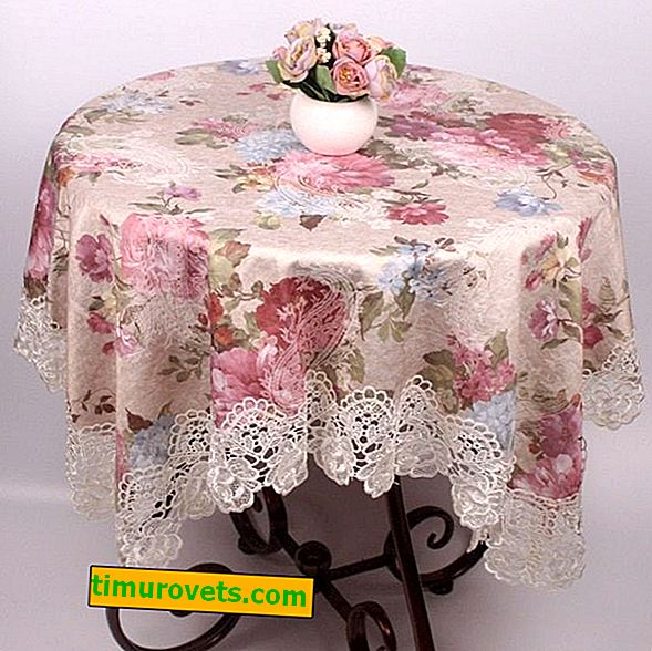 Types of tablecloths