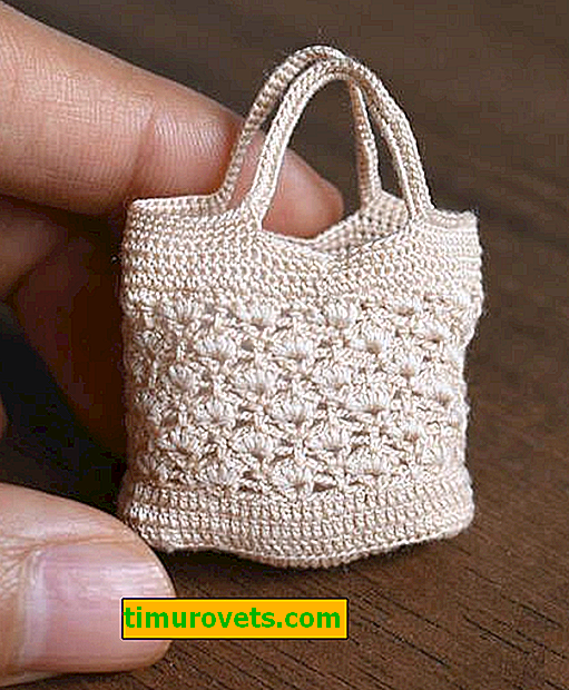 Плетене на една кука чанта