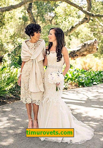 Que porter pour la mère de la mariée pour le mariage de sa fille?