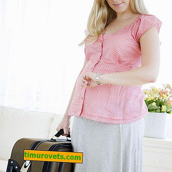 Kad trebate skupiti torbu u bolnici