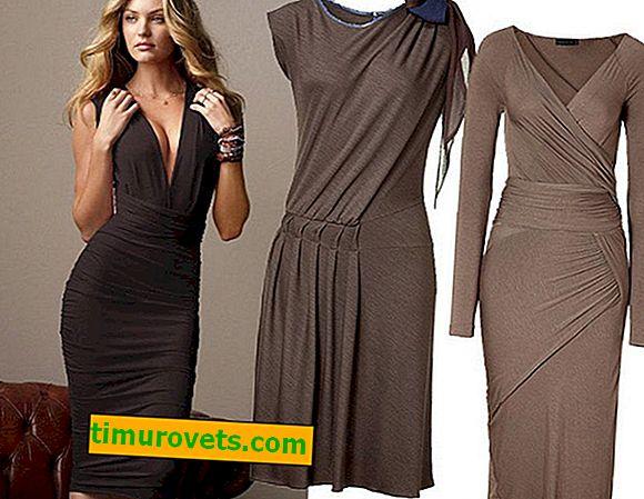Модели на плетени рокли