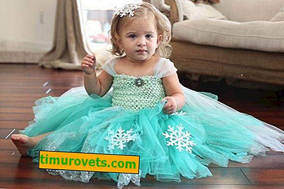 Сніжинки для сукні своїми руками