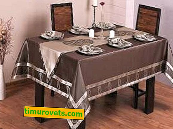 How to choose a tablecloth