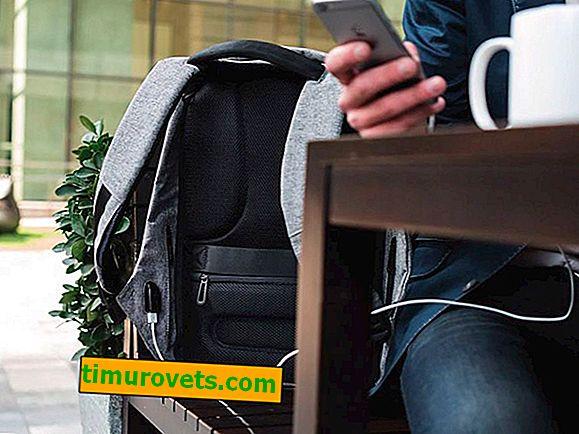 Zašto se u ruksaku nalazi usb kabel?
