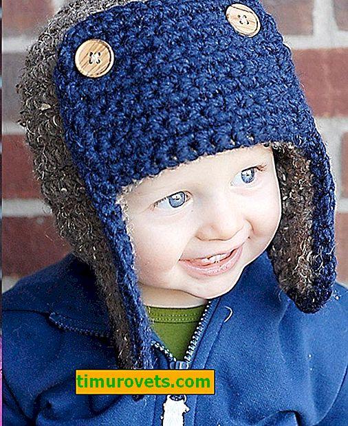 Virkad hatt för pojke