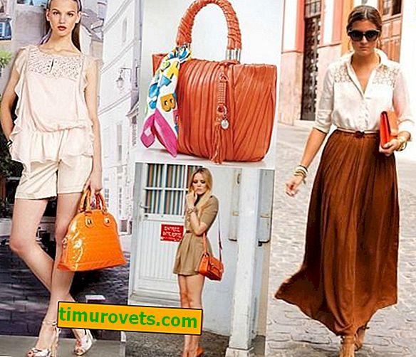 Hvad skal jeg bære med en orange taske?