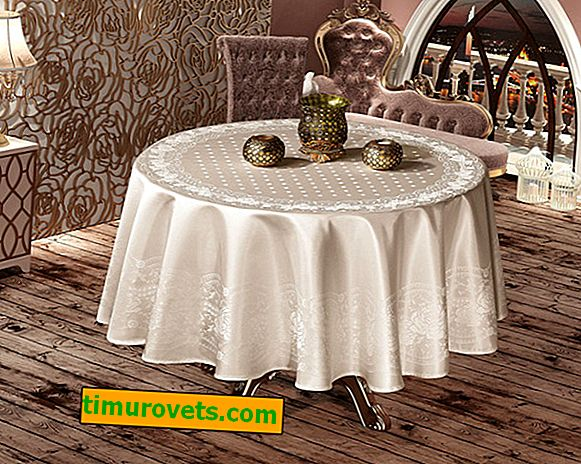 What tablecloth to choose for the festive table?