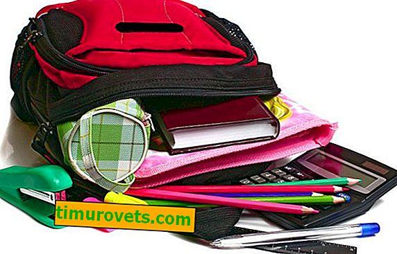 Okul için bir sırt çantası nasıl toplanır