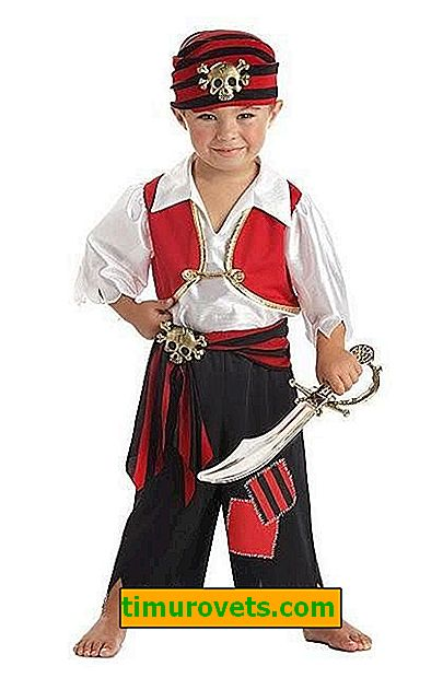 DIY pirat og pirat kostum