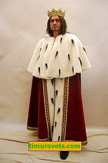 DIY konge kostum