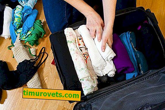 Hvordan pakkes tingene kompakt i en rejsetaske?