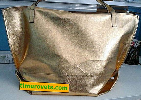 Jak odstranit záhyby na kožené tašce