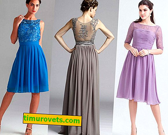 Chiffon jurk stijlen