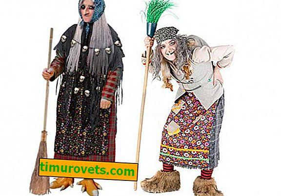 DIY Baba Yagi kostume