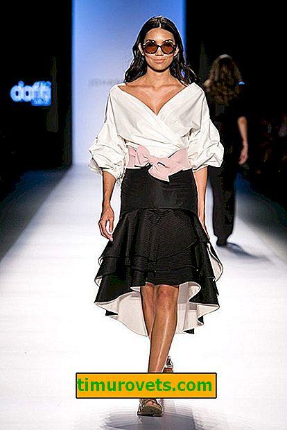Módní sukně-rok, trendy a fotografie