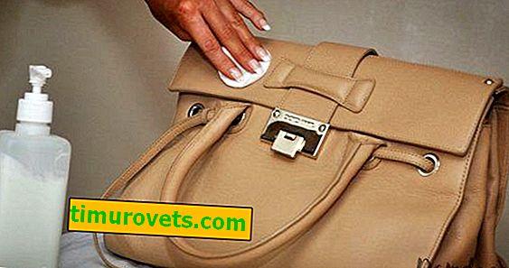 Ako prať koženú tašku?
