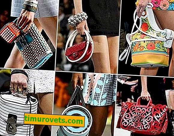Tipos de bolsos de mujer