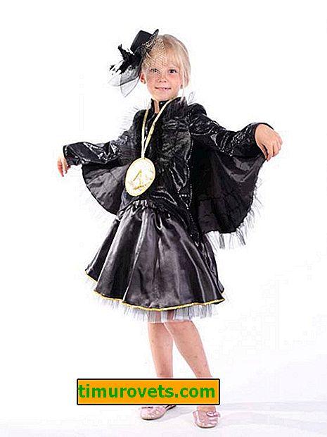 Napravite sebi ravan kostim za djevojke