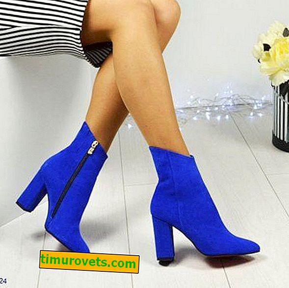 Comment porter des bottines bleues