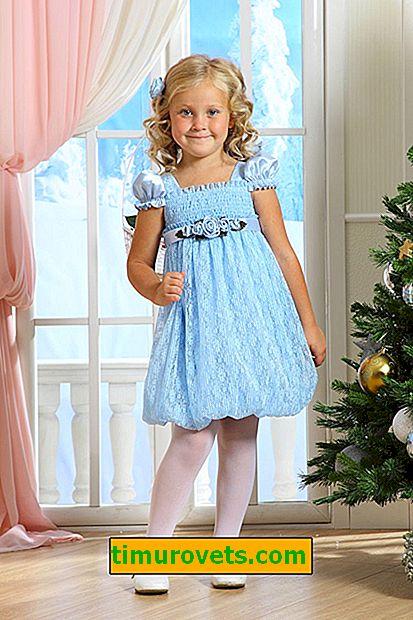 Kızlar için Noel elbise tığ işi