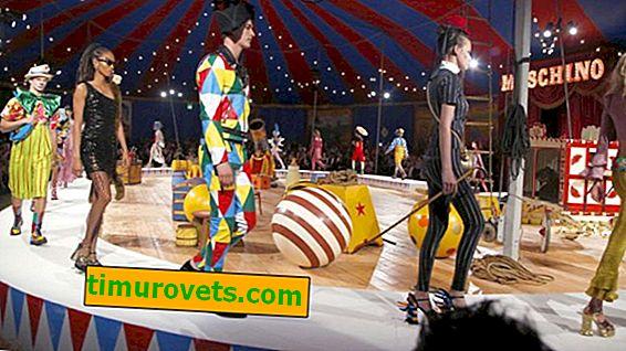 Alle børns frygt på et modeshow (Moschino Resort 2020)