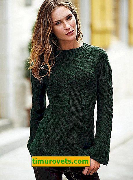 Как да плета пуловер за начинаещи