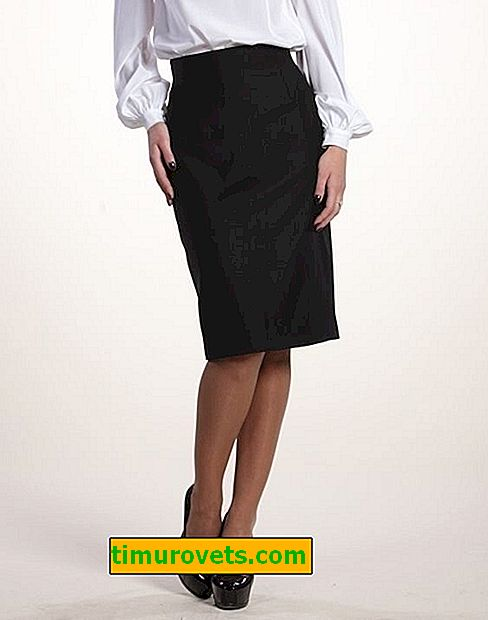 Motifs pour une jupe droite