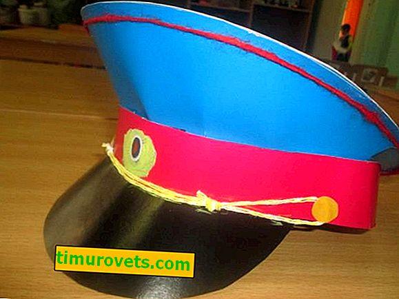 Kako napraviti papirnu kapu
