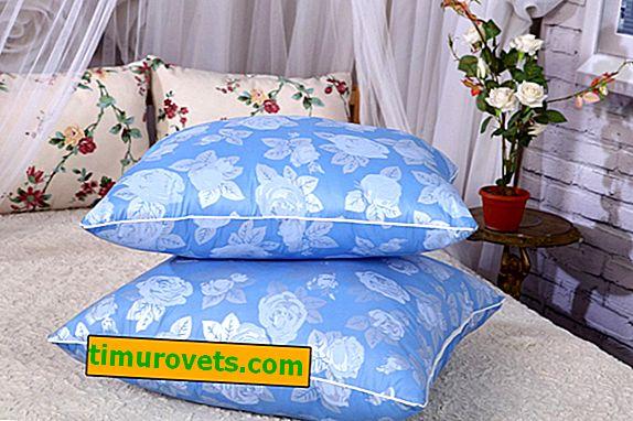 Jastuci s labudom: prednosti i nedostaci