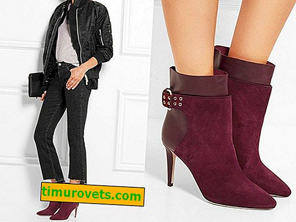 Hva skal du ha med burgunder ankelstøvler?