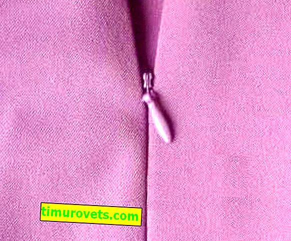 Sådan syr du en skjult lynlås i et nederdel