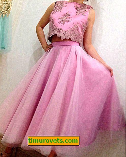 Какво мога да нося с дълга розова пола?