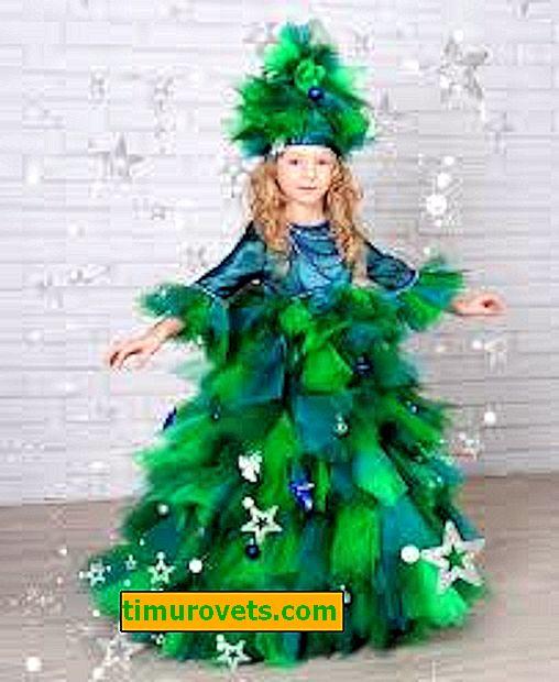 Naredite kostum za božično drevo