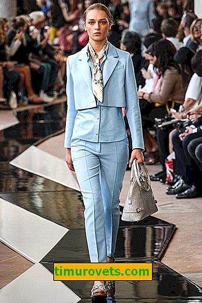 What should be a fashionable pantsuit in order not to fall into antitrends