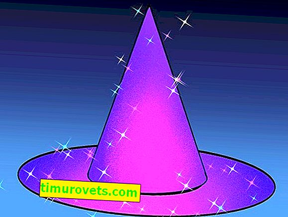 DIY sihirbazı şapka