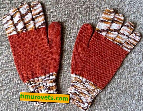 Ръкавици на плетачна машина
