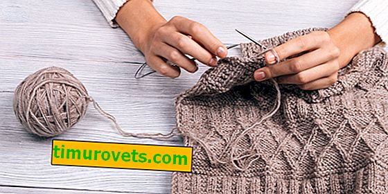 Why can not knit for her husband?  Signs and superstitions