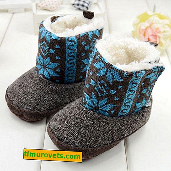 Cómo coser botas ugg para un bebé