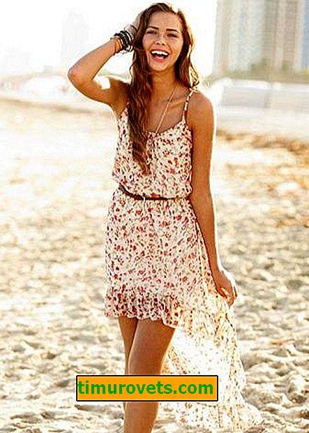 Modely letních šatů