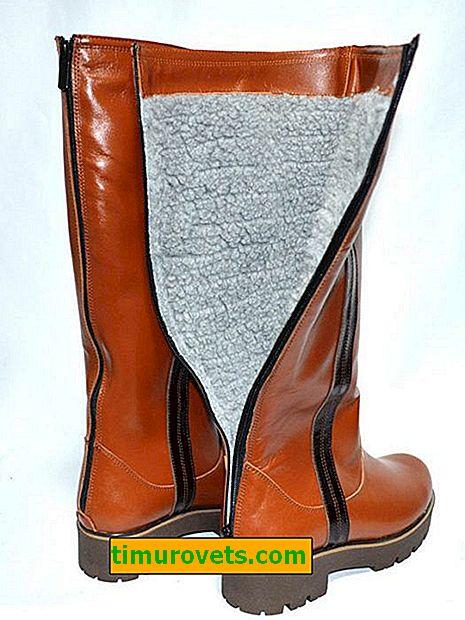 Kako namazati zadrgo na škornjih