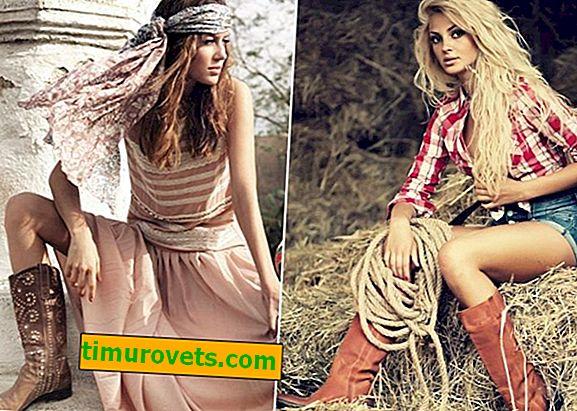 Kadın kovboy çizmeleri nasıl giyilir?