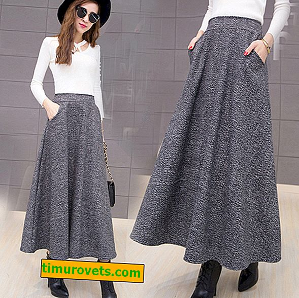 Tweed skirts: styles 2018 2019 (photo)