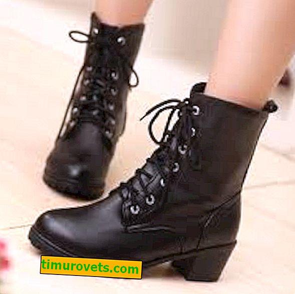วิธีการสวมรองเท้าต่ำ