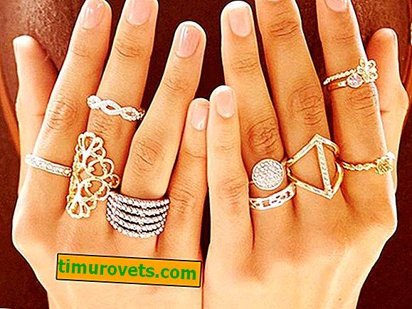 Kako nositi prstenje na rukama