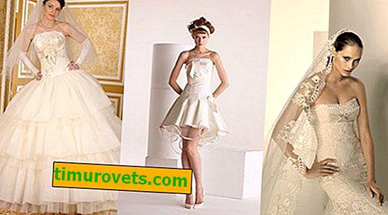 Как да изберем цвета на роклята - бял или слонова кост?
