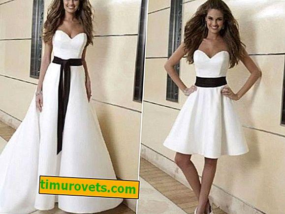 Comment faire une robe courte d'une robe longue