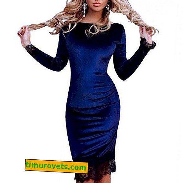 Stilovi haljina od velura