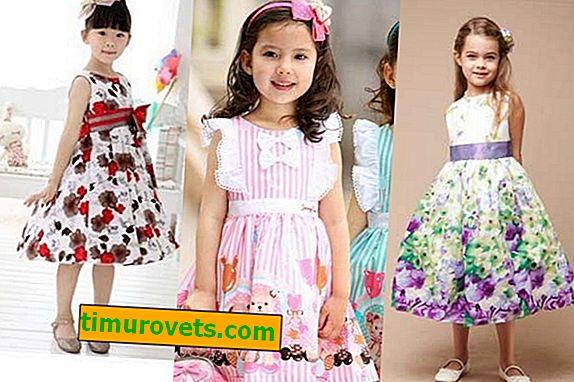 Estilos de vestidos infantiles