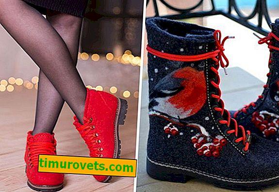¿Con qué llevar botas de fieltro?