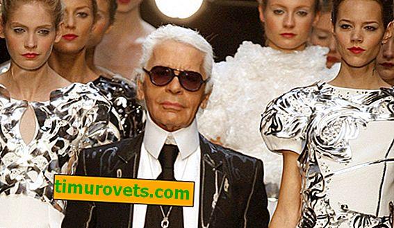 Lekcije Karla Lagerfelda: kako videti spodobno
